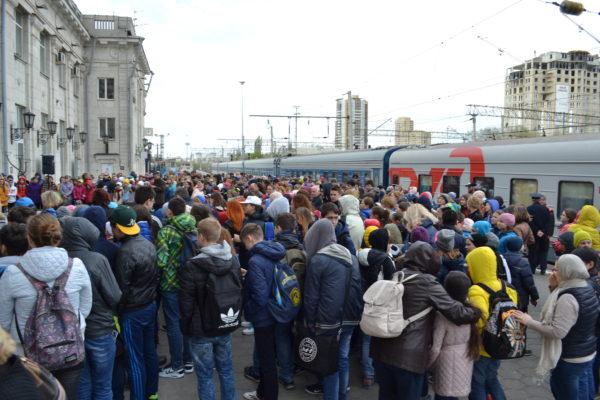 Туристический поезд Волгоград-Ростов