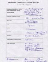 Отзыв туриста Воскресенск